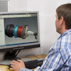 Picture 3D CAD analysis